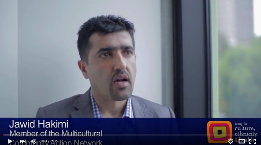 Video: Volunteer Jawid tells us about his role with M-CAN