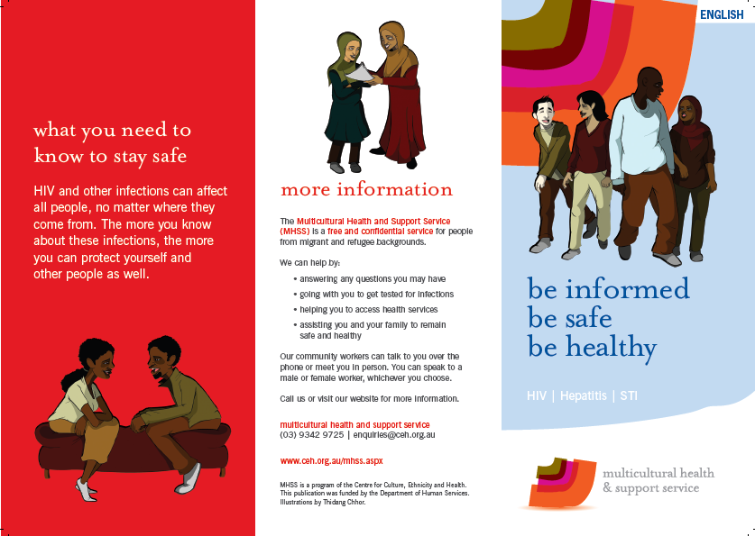 sexual health and viral hepatitis brochures centre for culture