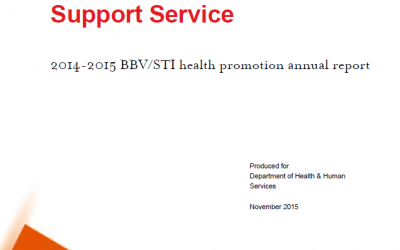 Multicultural Health and Support Service – Annual Report 2014 – 2015