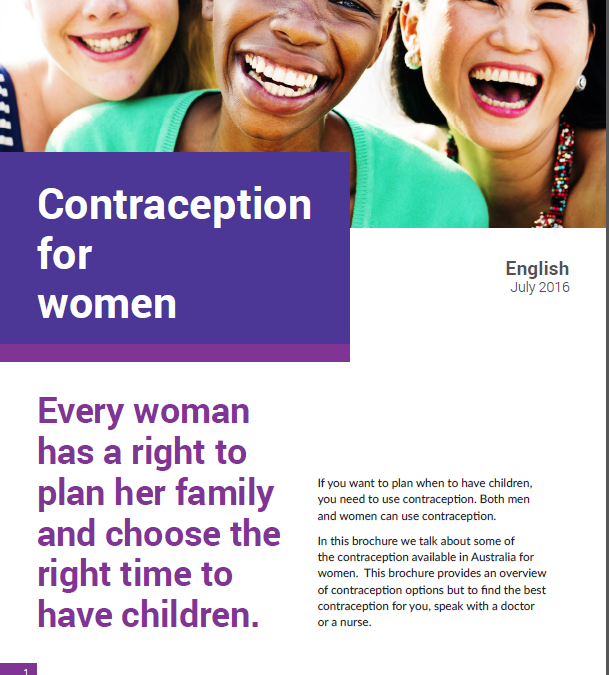 Contraception for women