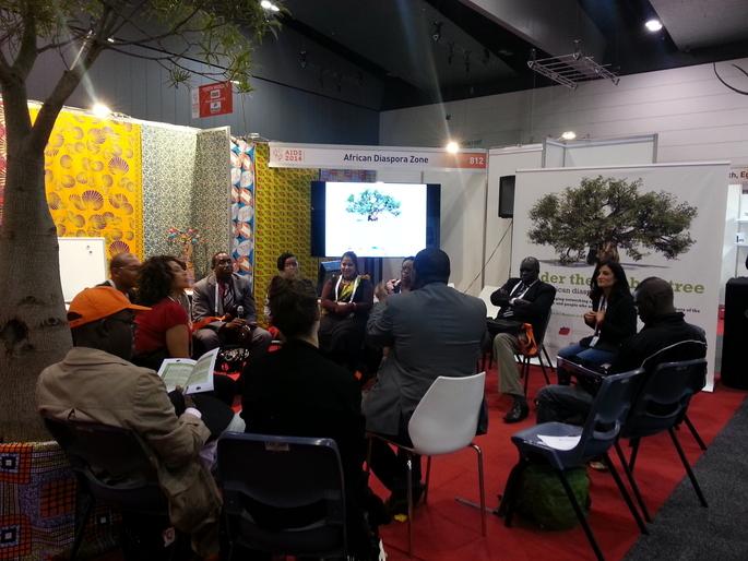 African Diaspora Networking Zone at AIDS 2014