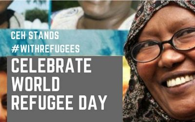World Refugee Day June 20th: We stand with refugees.