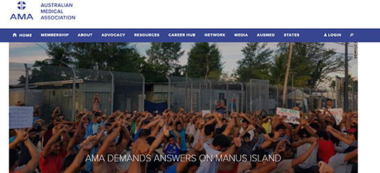 CEH adds voice to Australian Medical Association's call for action on Manus Island refugees.