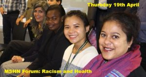 MSHN Sexual Health Network Forum: Racism and Health @ Multicultural Hub | Melbourne | Victoria | Australia