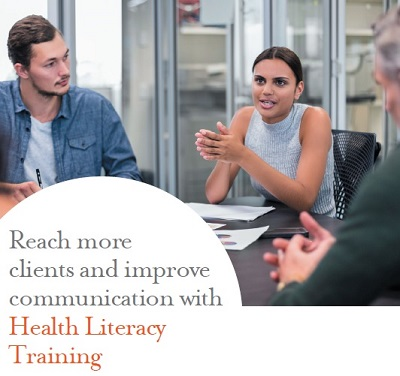 Learn more about our Health Literacy Training