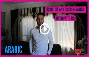 Disability and discrimination – Living with MS