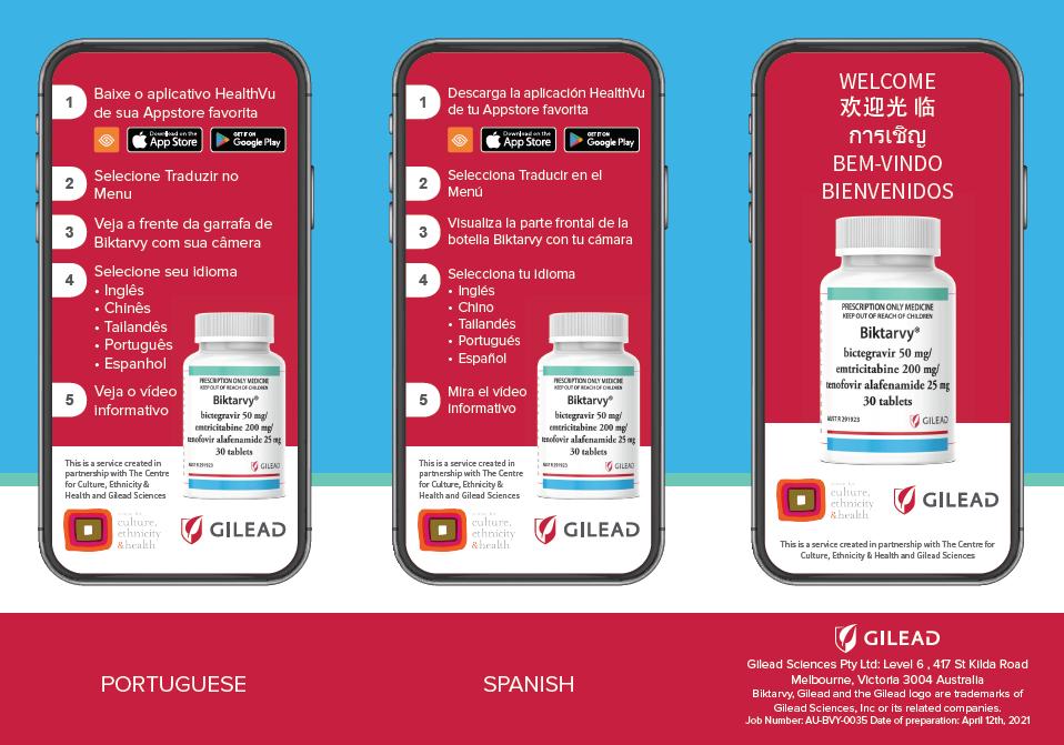 The CEH & Gilead Sciences:  Plain Language Health Information Project