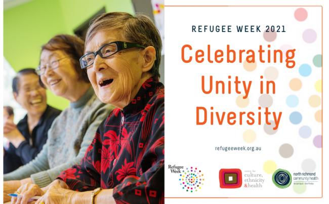 Refugee Week 2021 – Celebrating Unity in Diversity