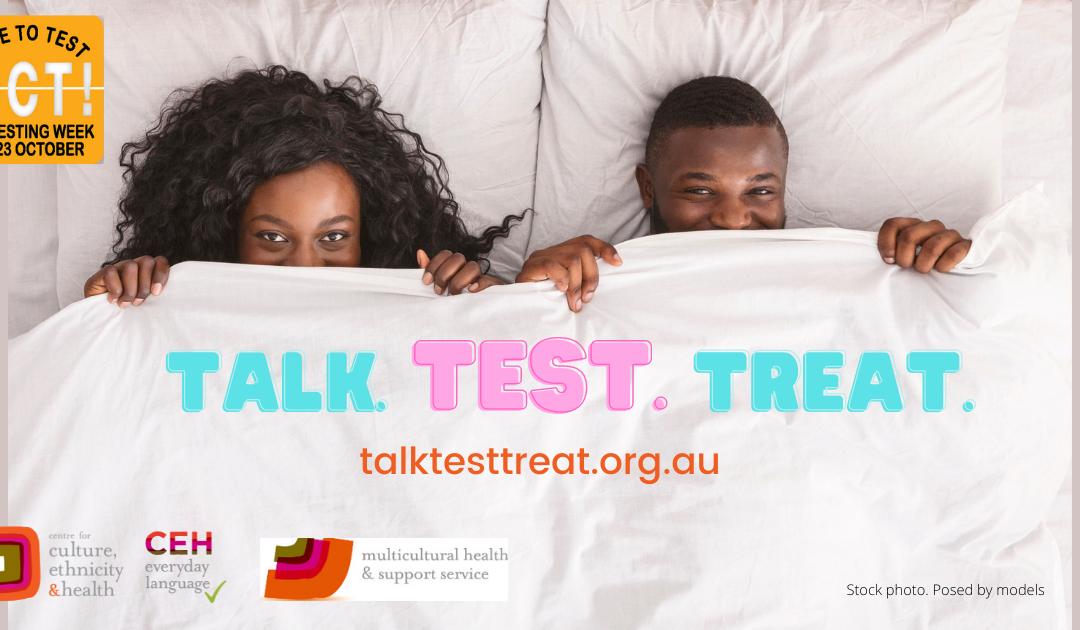 Talk Test Treat for STI testing week 2021